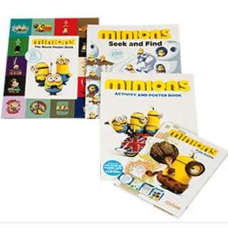 Minions Activity Books