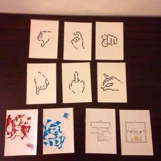 🚚 新一代設計展明信片