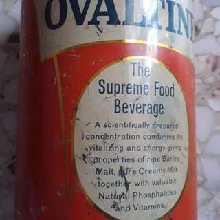 Vintage OVALTINE , The Supreme Food Beverage  - 400 Grams Tin - from ENGLAND