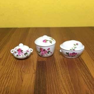 Casserole Dish Set for Dollhouse