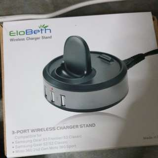 EloBeth Wireless Charger Stand CHARGER ONLY NEW NO BOX