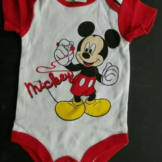 Mickey Mouse Romper 3 months