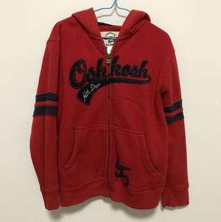 Oshkosh Red Navy Jacket Size 6