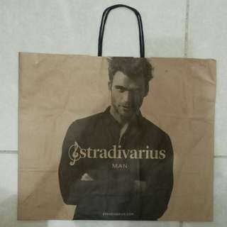 Paperbag / Paper Bag / Tas Karton Branded Stradivarius 2