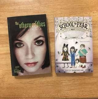 Book Bundle : The Otherworldlies & School of Fear