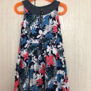 Roxy Girl Floral Dress