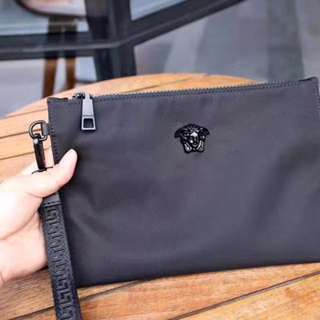 VERSACE Luxury Clutch ( Black )