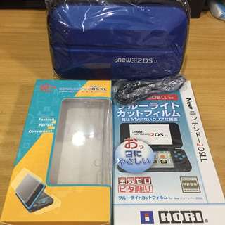 BN New 2DS XL 3DS XL Accessories