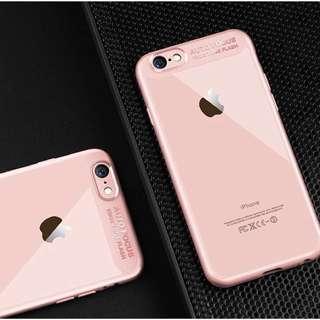 櫻花色透明iPhone 6手機殼