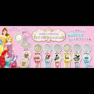 Takaratomy ARTS Disney Princess Watch Ariel Belle Snow White Jasmine Aurora