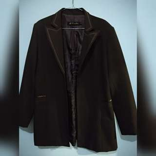 Blazer dark brown