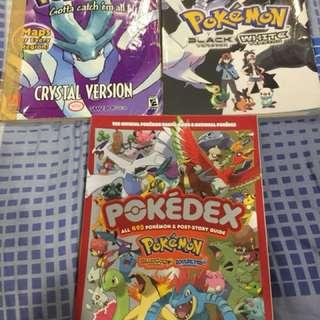 Pokemon Guidebooks