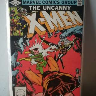 Uncanny X-MEN#158 2nd Appearance of Rogue