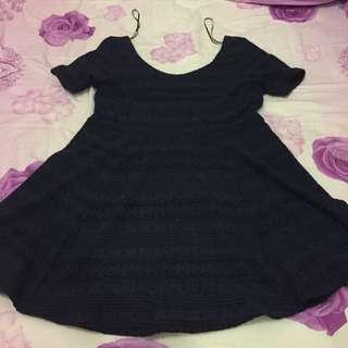 Dress (navy)