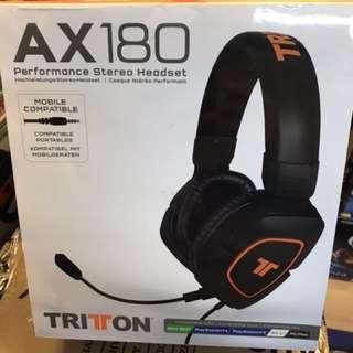 TRITTON AX180 立體聲遊戲耳機/咪