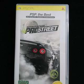 PSP: Need for Speed - ProStreet