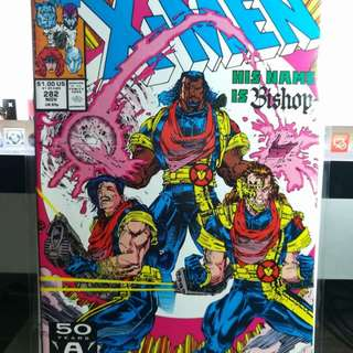Uncanny x-men #281 first appearance of Bishop