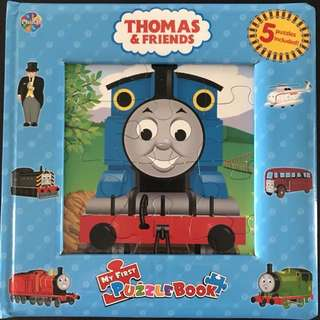 Thomas and Friends - puzzle story book