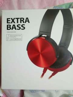 Extra Bass Stereo Heaphones