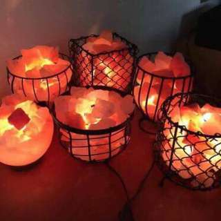 Authentic Chunks Himalayan Salt Lamp for DIY