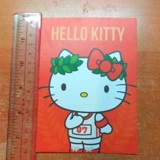 (包郵)Hello Kitty 卡紙