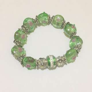 Handcrafted fashion bracelet