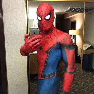 Cosplay 蜘蛛緊身連身衣