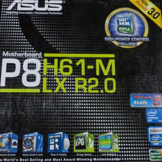 Asus Motherboard P8 H61-M LX R2.0