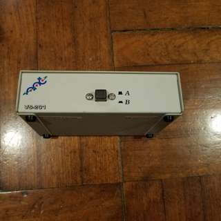 2 in 1 out VGA switcher