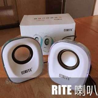 RITE 喇叭 2.0 mini 數碼音箱 OR-SP0019
