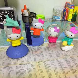 Hello Kitty Mcdonald's Collectible Toys (2016)