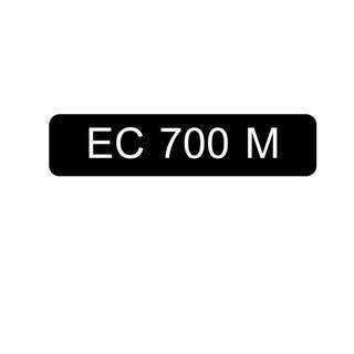 Car Number Plate for Sale: EC 700 M
