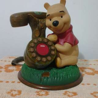 POOH BEAR ,home line telephone,