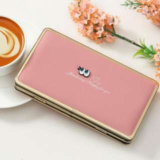 abbey wallet *softpink