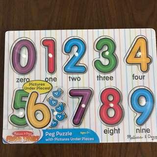 Melissa & Doug Numbers Puzzle