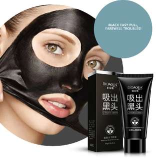 [PO] Bioaqua Activated Carbon Remove Blackhead Mask Acne Treatment Peel Mask