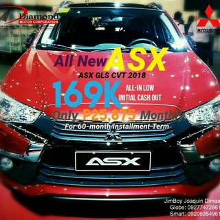 Mitsubishi ASX LOW DOWN Promo SURE Approval NO Minimum Requirements DIAL NOW! 09277472861 or 09206354961
