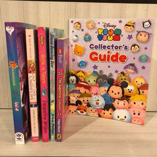 Various girls books