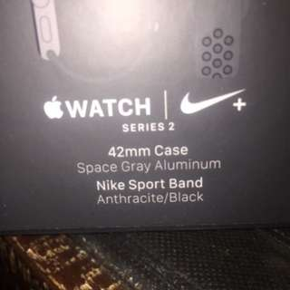 Brand new Apple Nike + 42mm sports Watch Series -2 for sale.