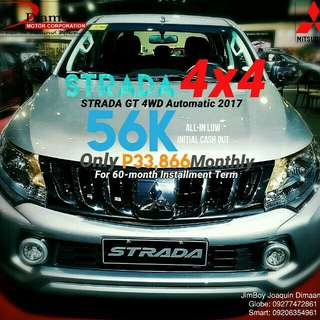 Mitsubishi Strada LOW DOWN Promo SURE Approval NO Minimum Requirements DIAL NOW! 09277472861 or 09206354961
