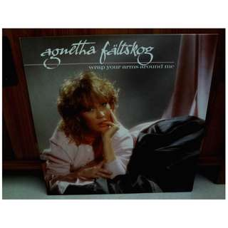 Agnetha Faltskog Wrap Your Arms Around Me Vinyl LP Record