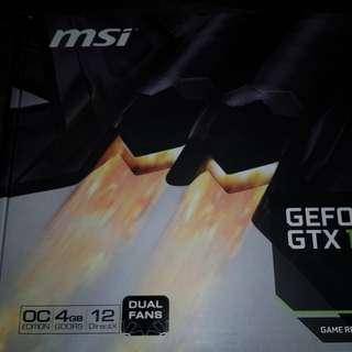 MSi GTX 1050 Ti 4GB OC ready