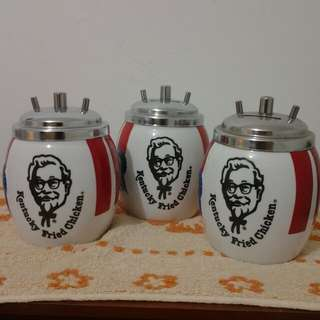 KFC COIN BANK 1980 SERIES.