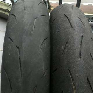 Tayar Second bridgestone battlax rs10 120/70