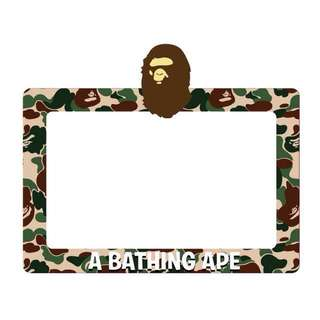 A Bathing Ape Camo Road Tax Sticker