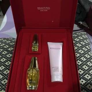 Estee Lauder Beautiful Perfume and Lotion Body Set