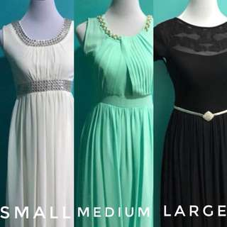 Gowns for sale/rent