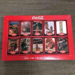 可口可樂懷舊火柴盒 Coca Cola
