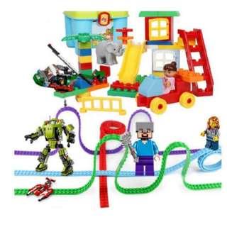 (PO) Self-Adhesive Lego / Building Block Tape