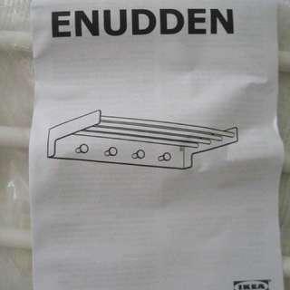 45cm ENUDDEN Wall shelf with 4 knobs - IKEA
